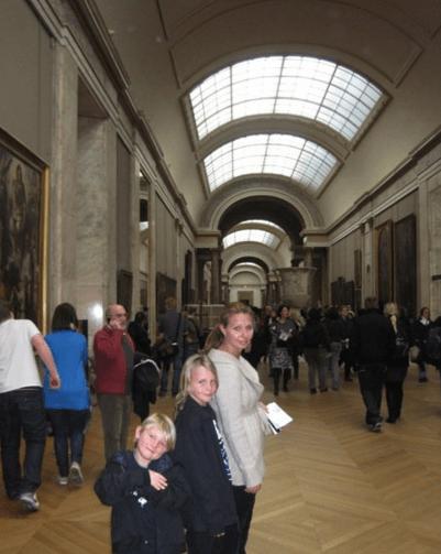 musee du louvre paris with kids