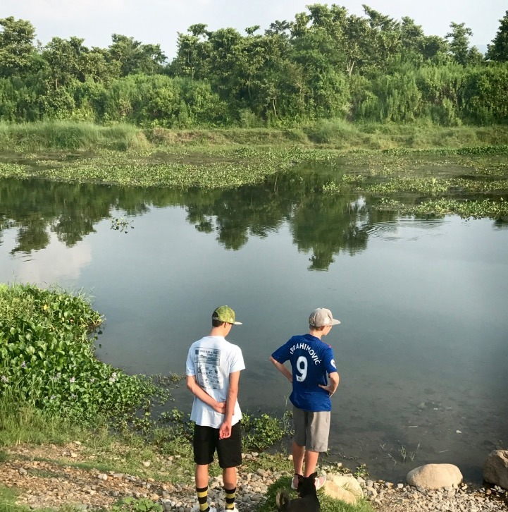 Chitwan national park, nepal with kids
