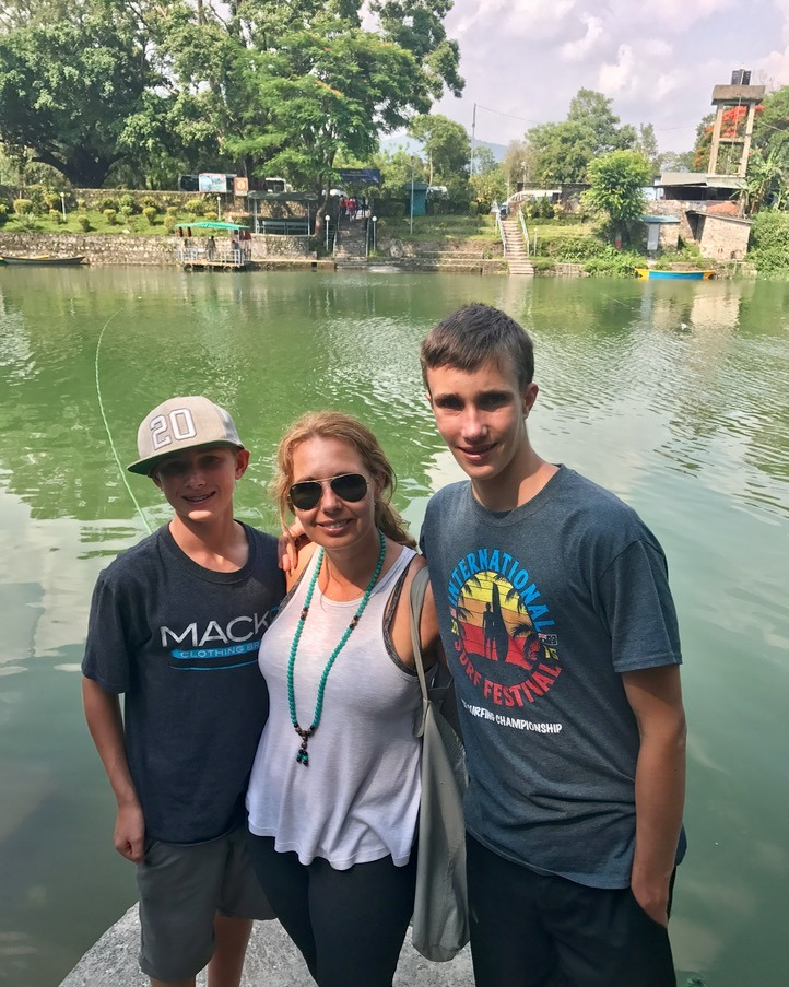 travel to pokhara nepal with kids