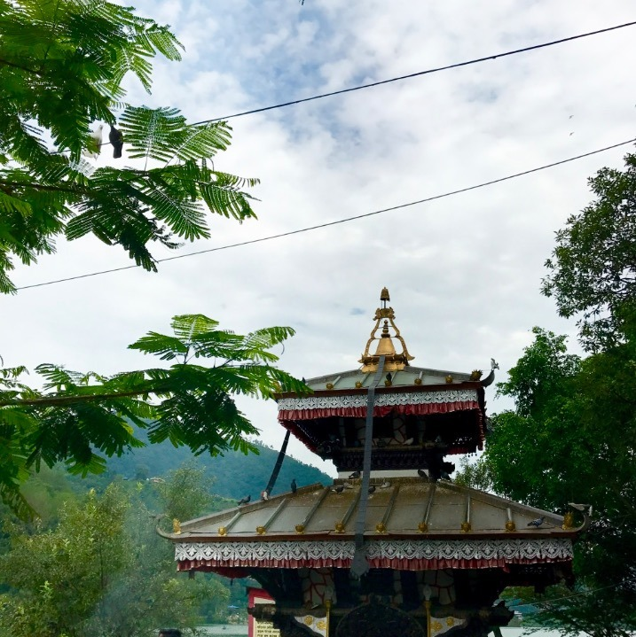 travel to pokhara nepal with kids temples