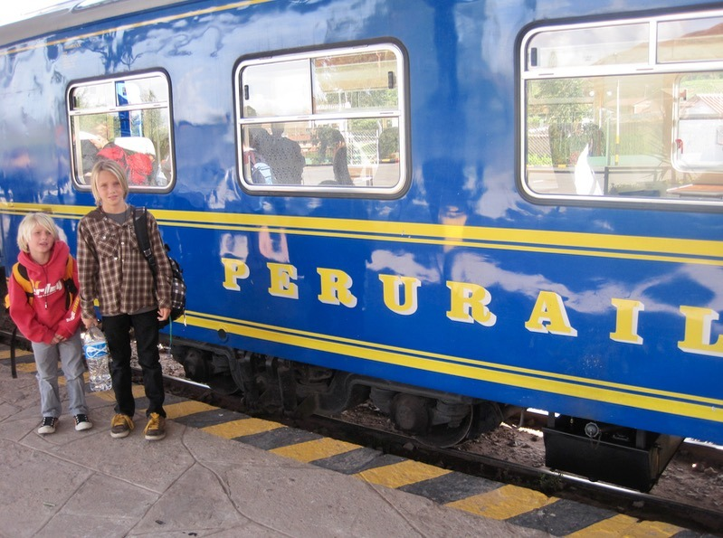 perurail - taking the train to machu picchu