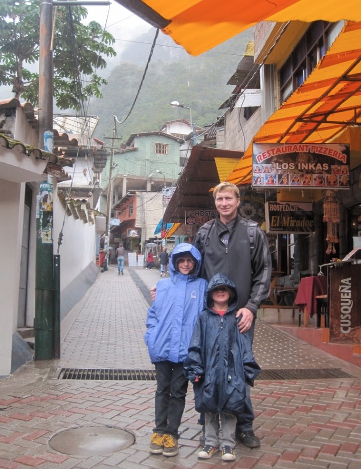 kids visit cusco peru