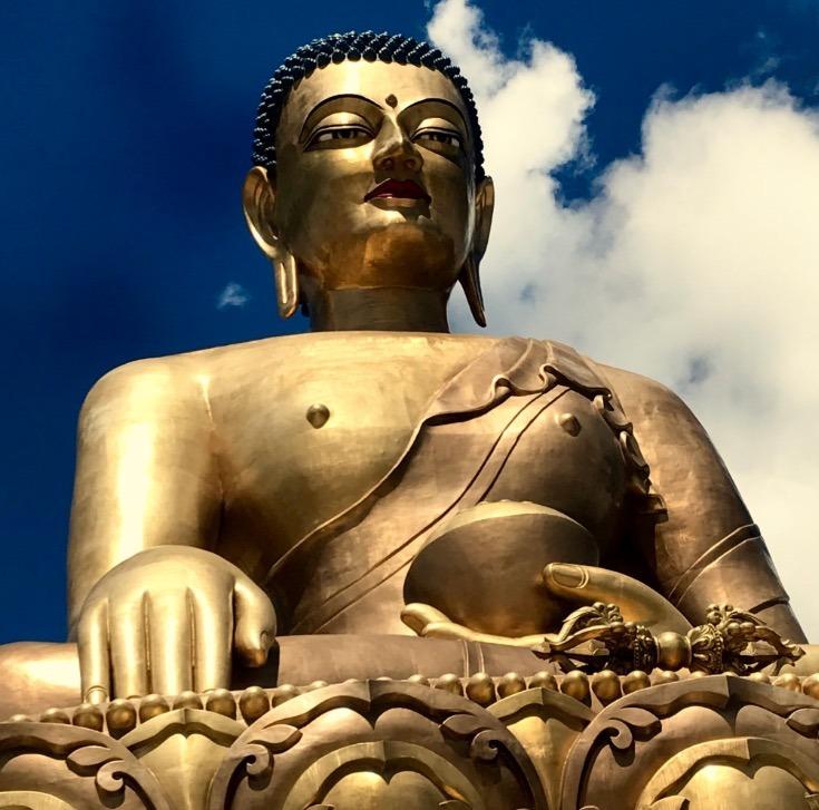 Buddhas in Bhutan