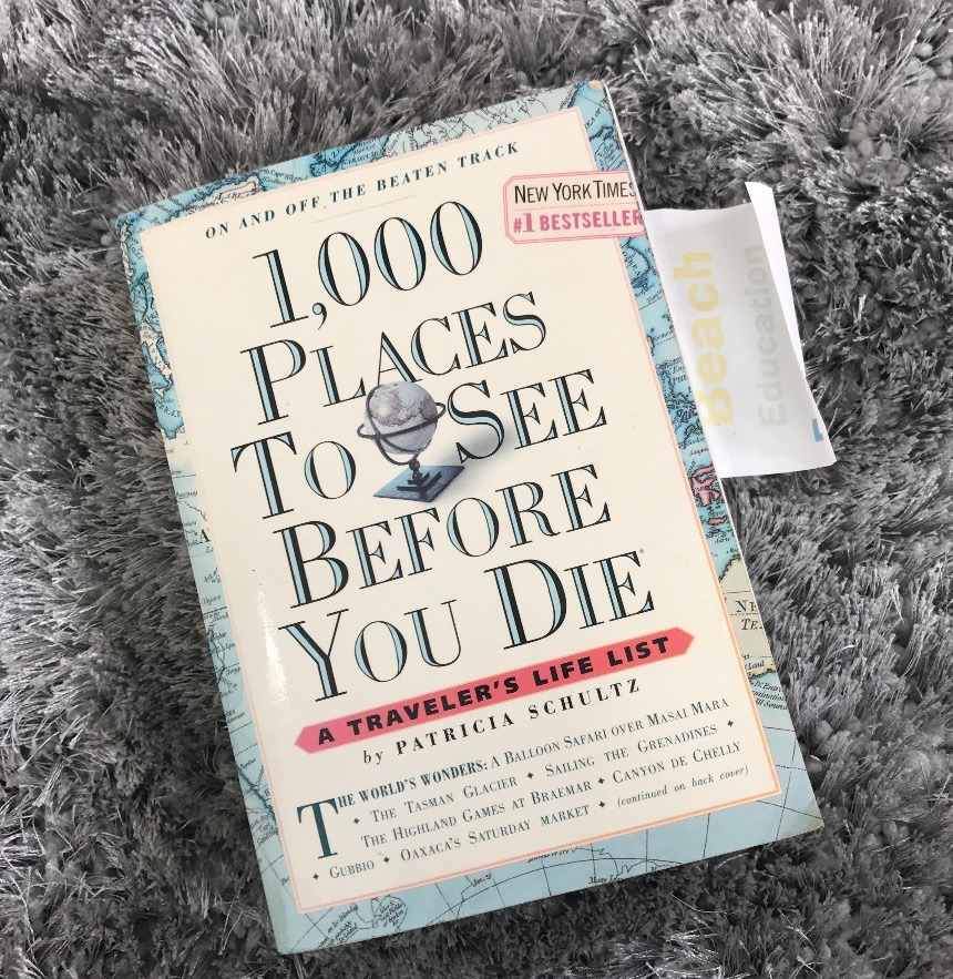 1000 places to see before you die travel book