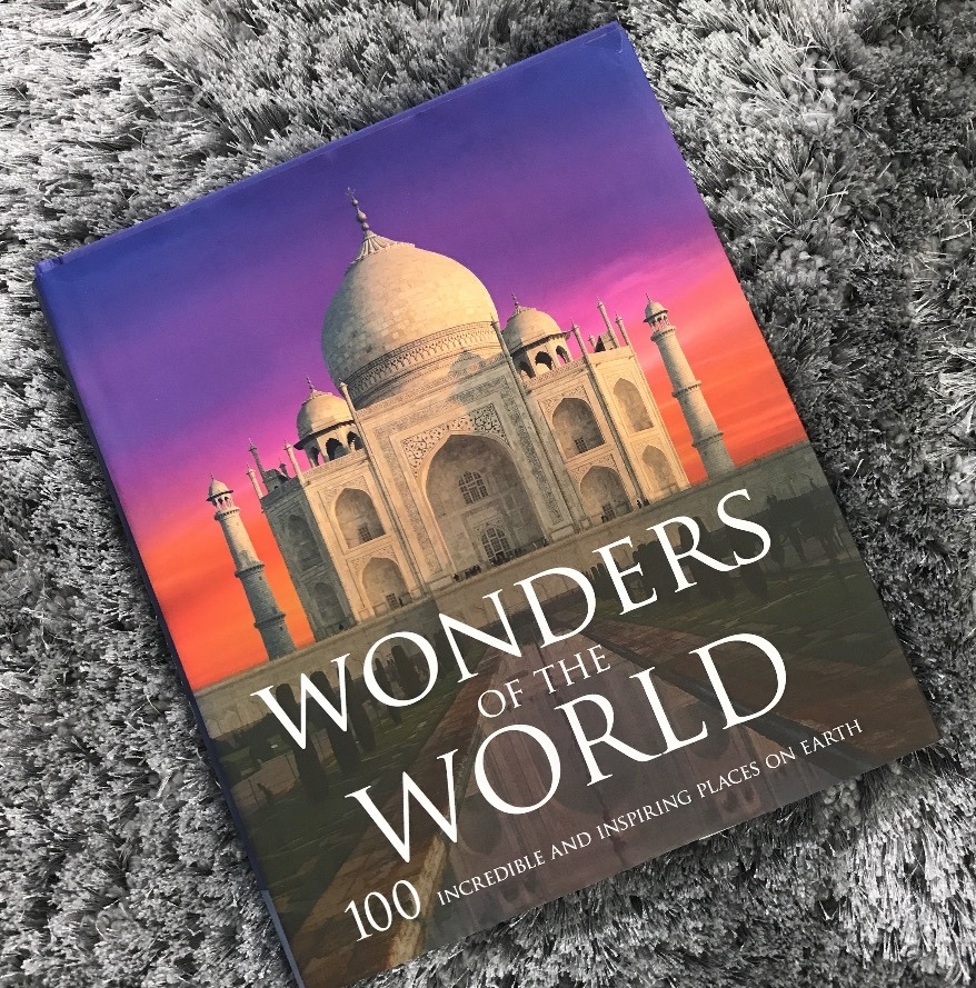 wonders of the world travel book