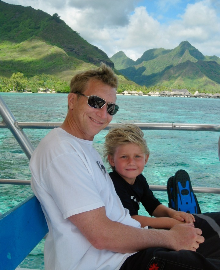 Moorea tahiti with kids and family