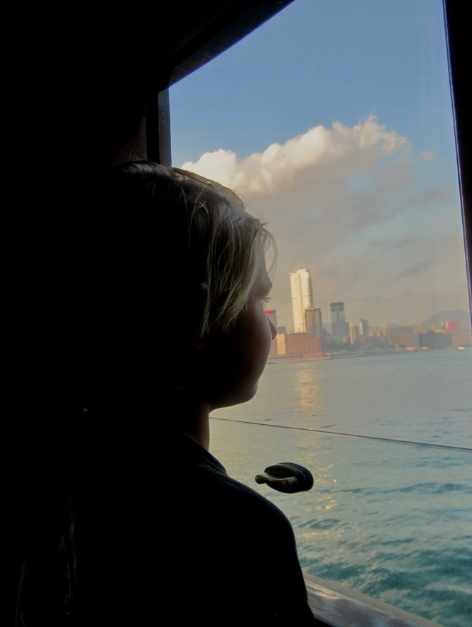 Hong Kong with kids kowloon ferry