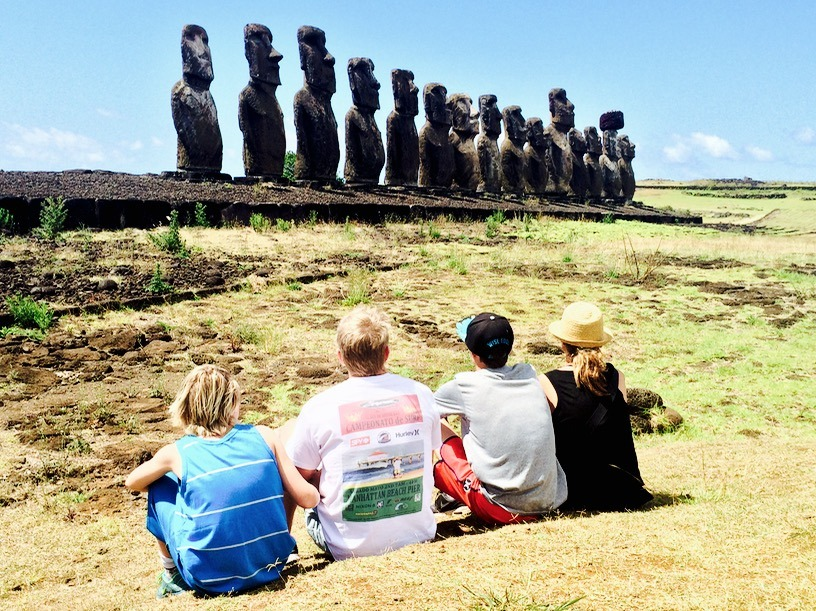 10 best places to travel - easter island, chile