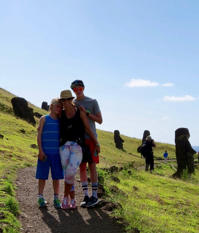 Visit easter island with kids family