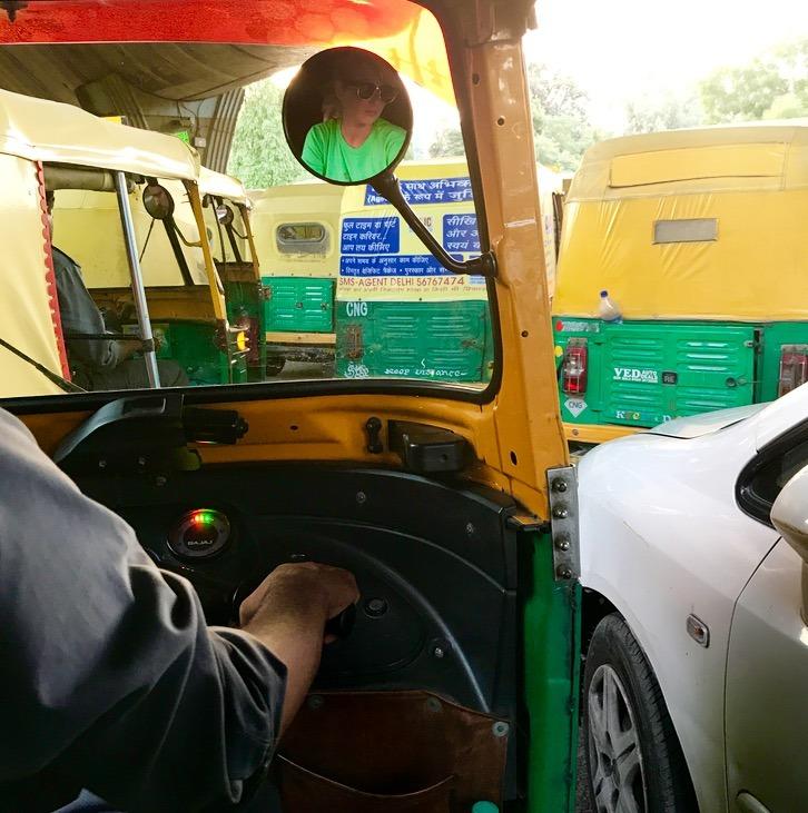 delhi, India Tuk Tuk