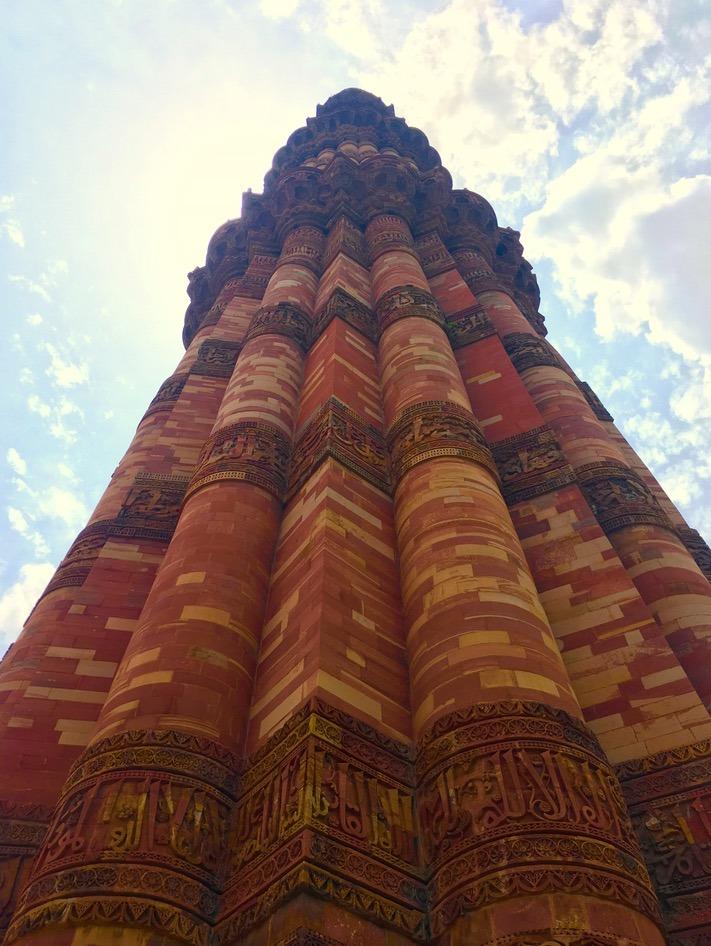 Delhi, India minaret