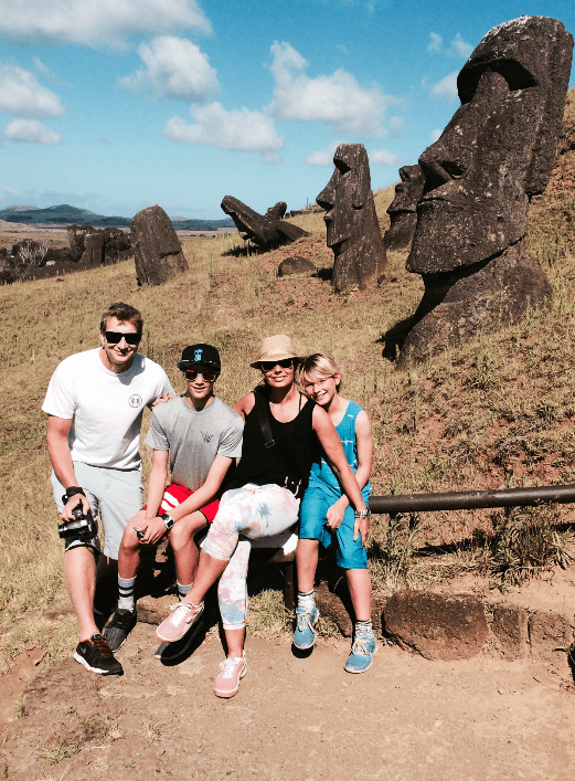 family travel to easter island