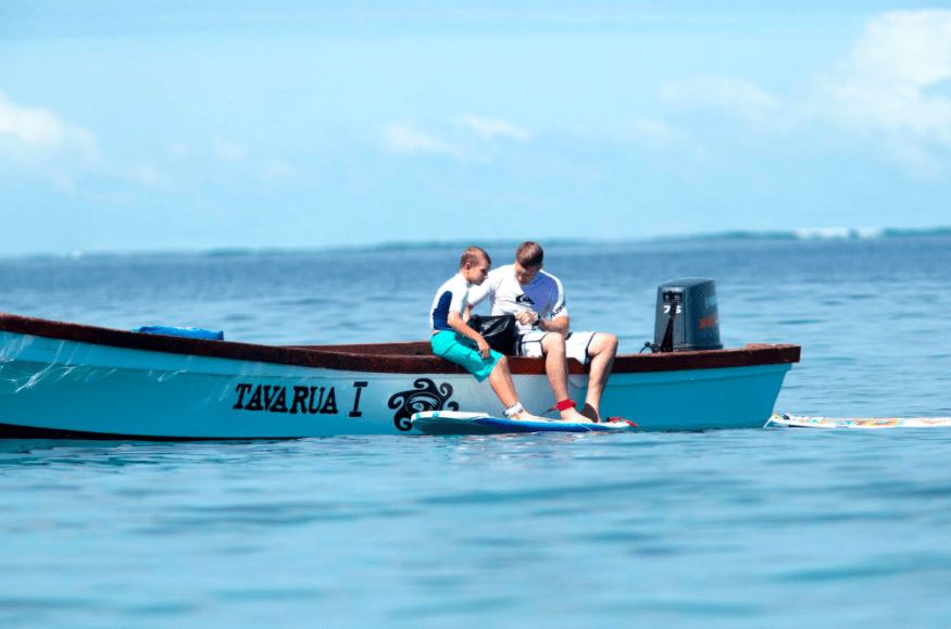 Tavarua Island resort FIji