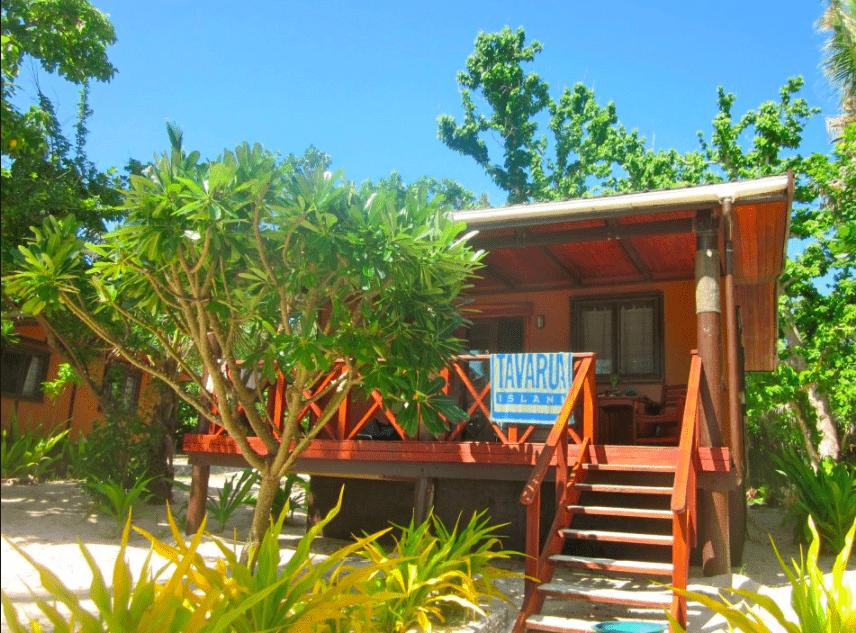 Tavarua Island resort FIji bure