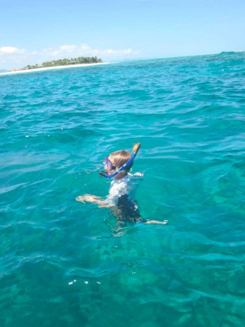 Tavarua Island resort FIji snorkling