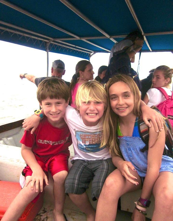family trip Tavarua Island resort FIji