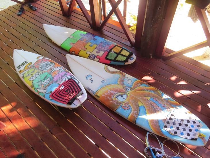 Tavarua Island resort FIji surfing