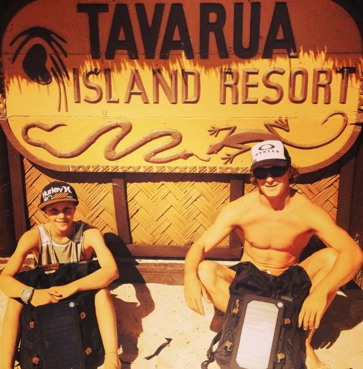 Tavarua Island resort FIji pro surfers