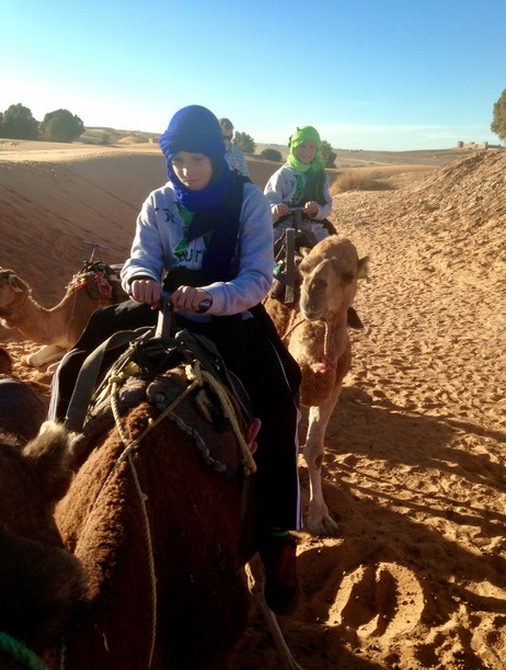 sahara desert, Morocco with kids