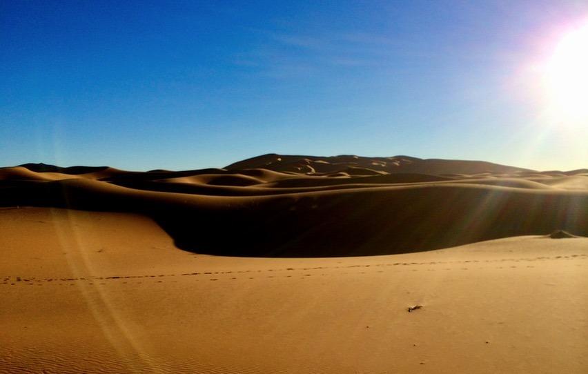 sahara desert, Morocco dunes