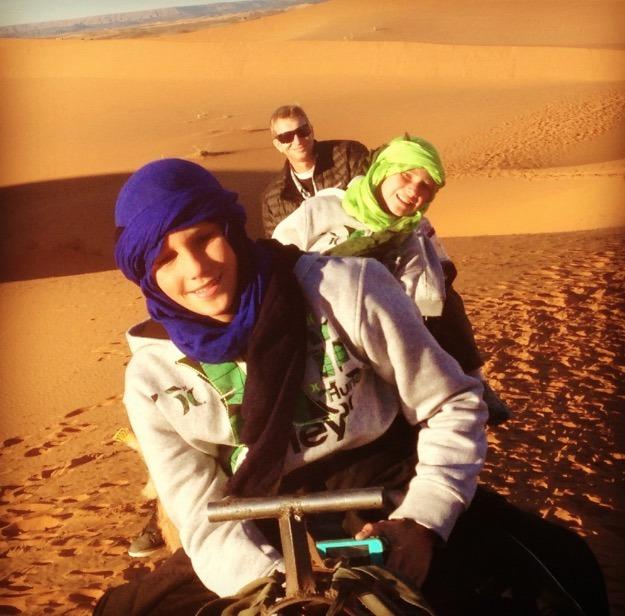 sahara desert, Morocco sand dunes orange
