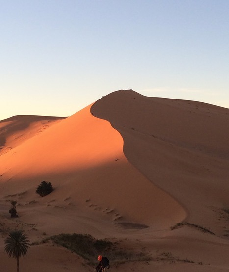 sunset pictures sahara desert, Morocco