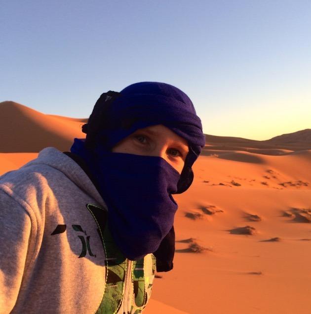 sahara desert, Morocco sunset