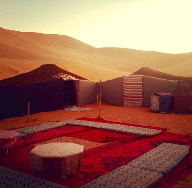 sahara desert, Morocco campsite