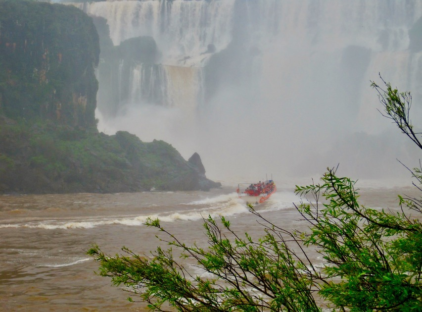 stunning Iguazu Falls in Brazil and Argentina with kids