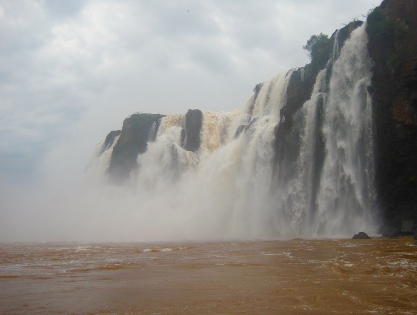 mighty Iguazu Falls in Brazil and Argentina with kids