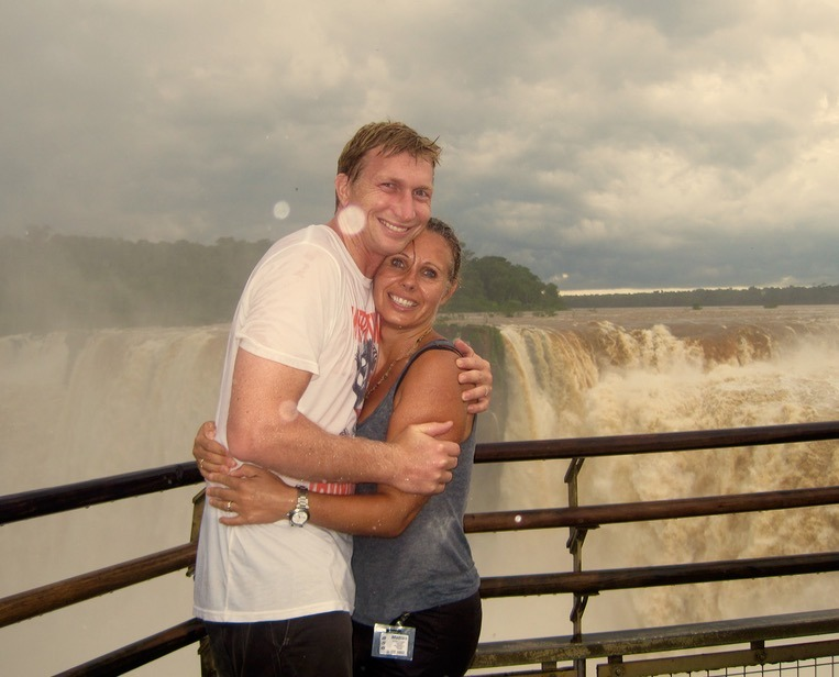 Iguazu Falls in Brazil and Argentina with kids - devils throat