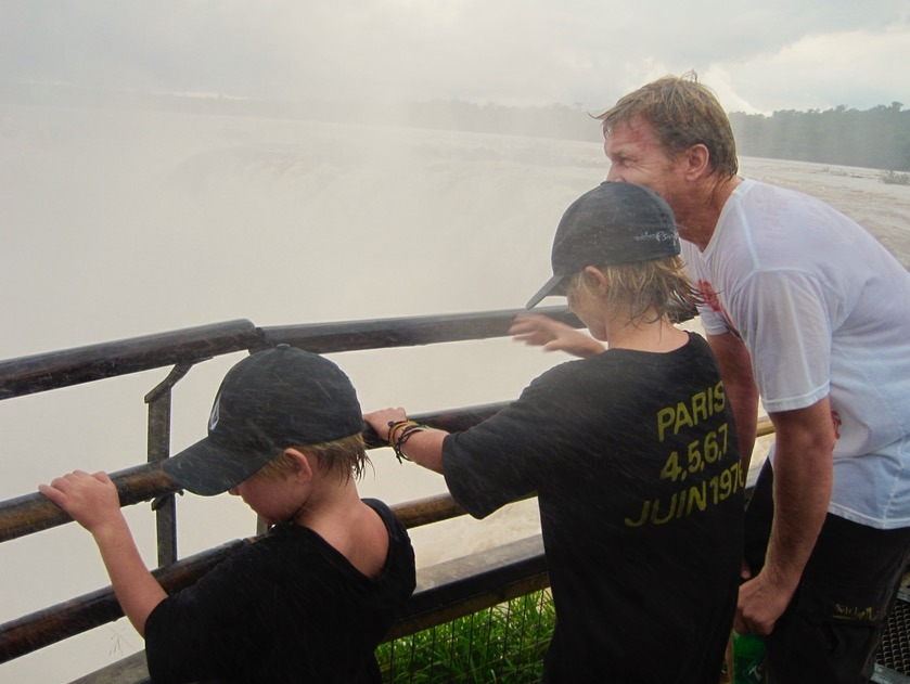 visit Iguazu Falls in Brazil and Argentina with kids