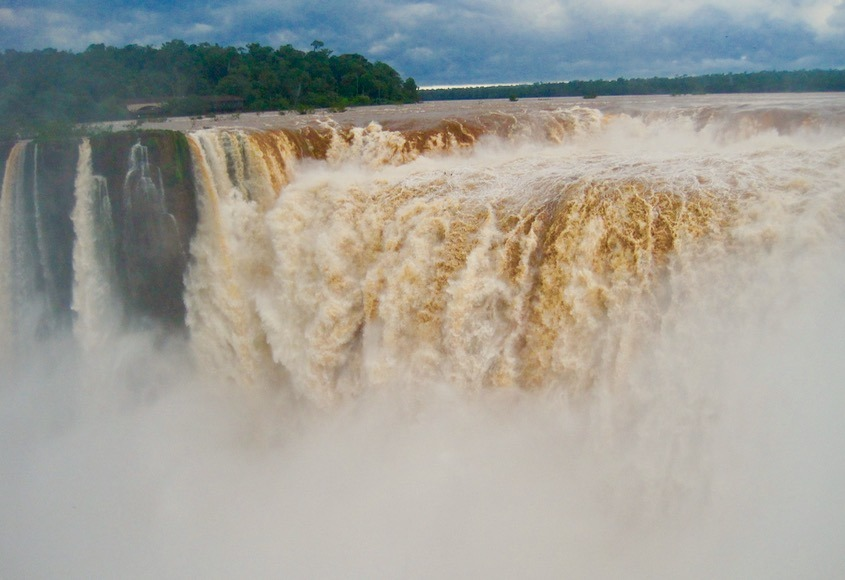 fantastic Iguazu Falls in Brazil and Argentina with kids