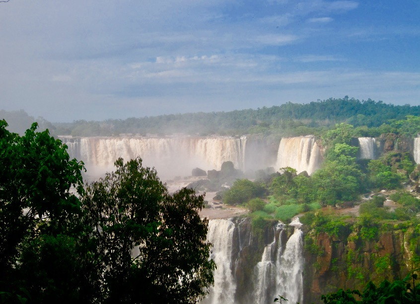 Iguazu Falls in Brazil and Argentina with kids - brazilian side