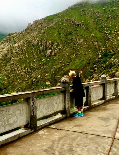 Visit Lhasa Tibet Drepung Monastery with kids