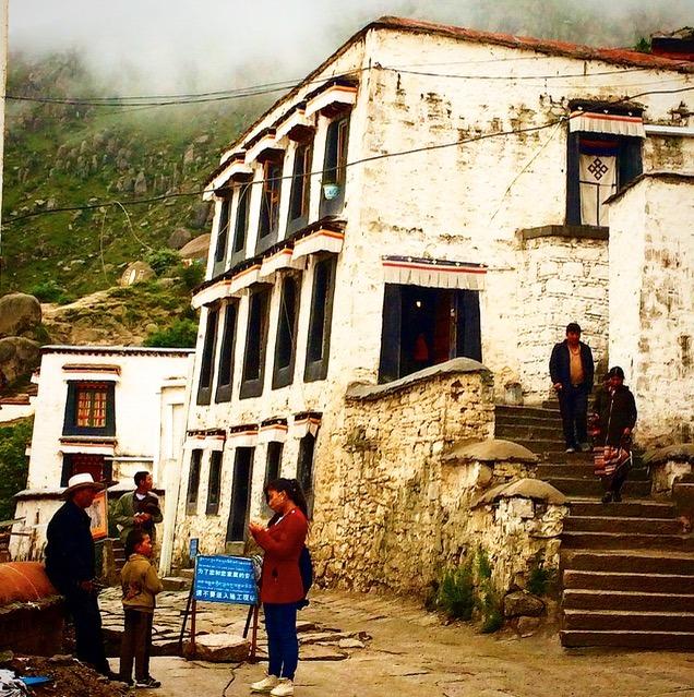 Lhasa Tibet Drepung monastery