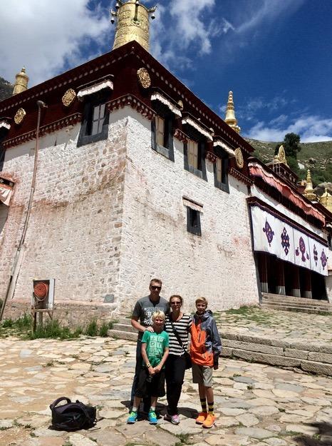 Lhasa Tibet sera monastery