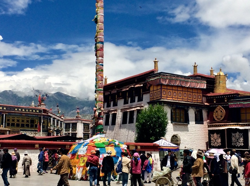 Best Place for Temples - Lhasa Tibet Jokhang temple