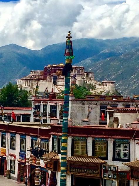 Lhasa Tibet Jokhang temple