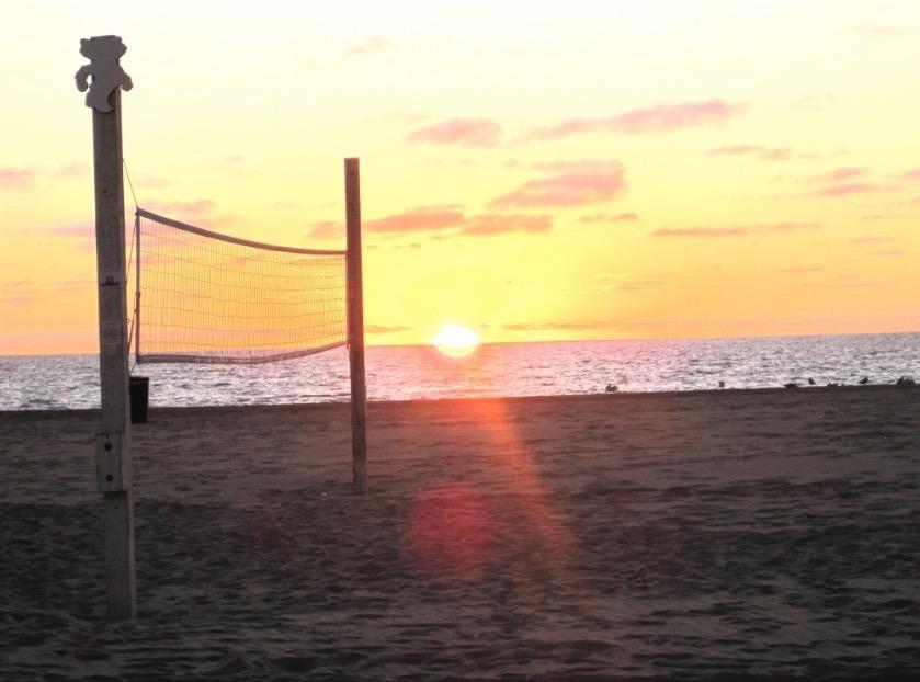Volleyball in Hermosa Beach