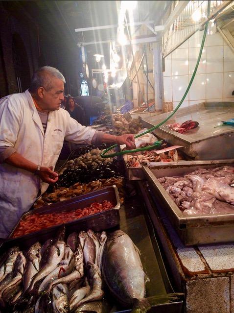 Chile santiago mercado central