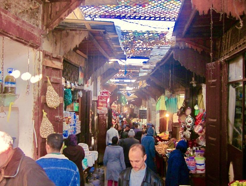Fez Morocco bright colors