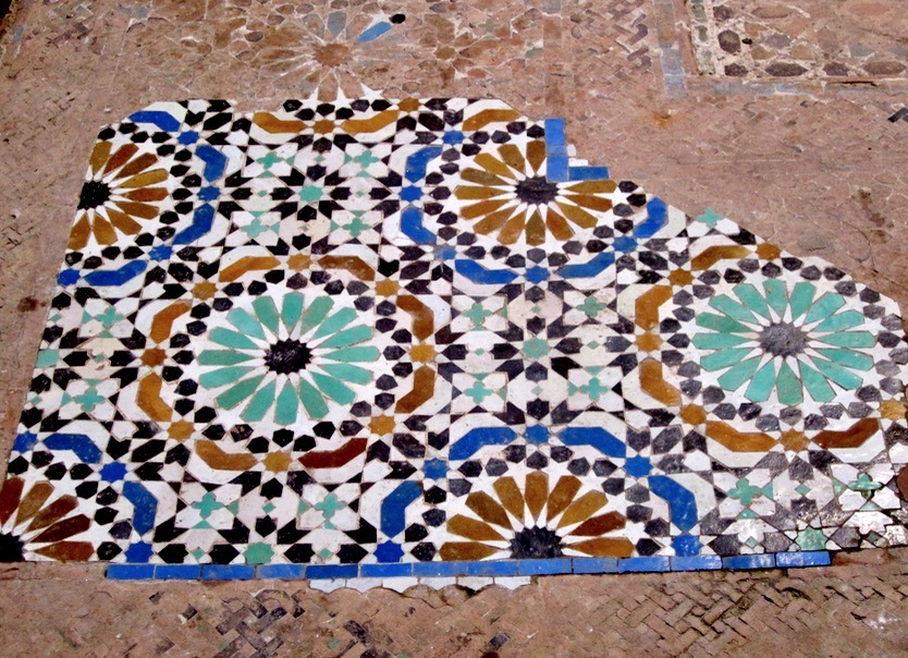 Fez Morocco tiles