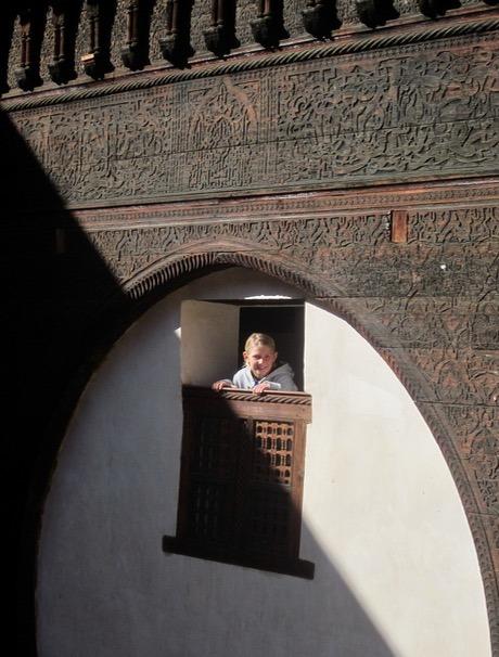 Fez Morocco riad with kids