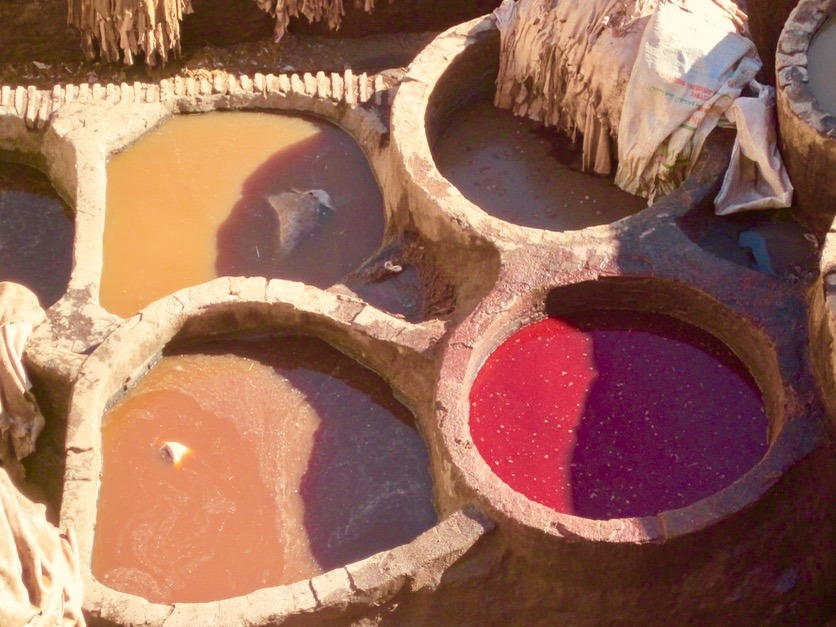 Fez Morocco tanneries