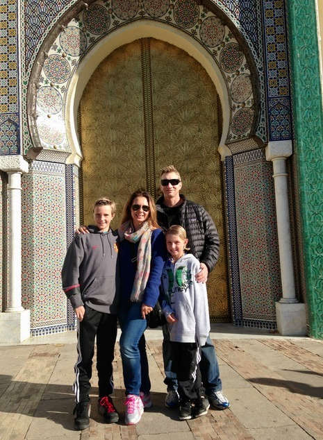 Fez Morocco with kids