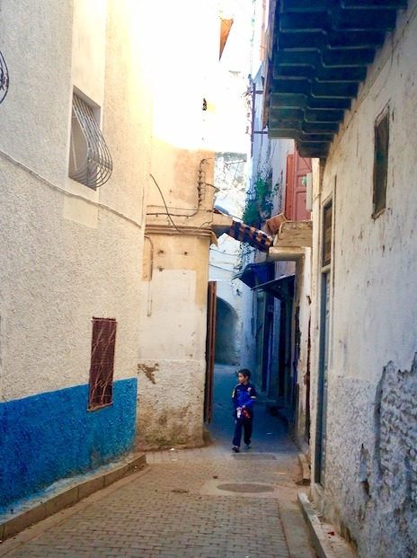 Fez Morocco with children