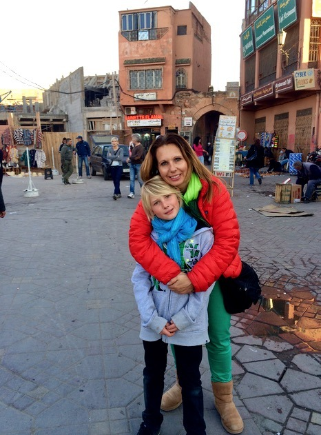 Fez Morocco medina with children how to stay safe