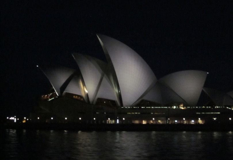 Sydney Australia Opera House evening pictures