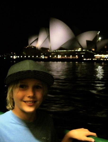 Sydney Australia Opera House at night